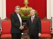 [Foto] Vietnam y Cuba robustecen colaboración partidista