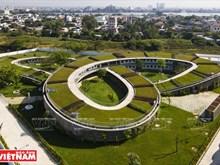 [Fotos] Escuela vietnamita en la lista de obras arquitectónicas típicas del mundo