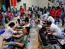 [Fotos] Campaña de donación de sangre en Hanoi