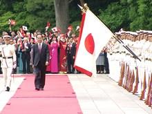 [Fotos] Emperador de Japón recibe al Presidente de Vietnam