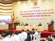 Vietnam propone alta meta para crecimiento económico en segundo semestre de 2018