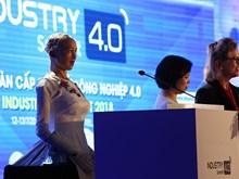 La primera robot ciudadana en el mundo participa en Cumbre sobre industria 4.0 en Vietnam