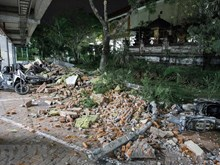 [Foto] Terromoto sacude isla indonesia de Lombok