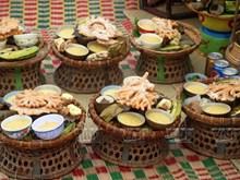 [Foto] Pastel de gengibre de los Cham