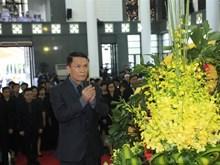 [Fotos] Delegación de Agencia Vietnamita de Noticias rinde tributo al presidente vietnamita Tran Dai Quang