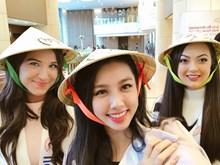 (Fotos) Representante vietnamita divulga imagen de Non la en el concurso Miss Universo 2018