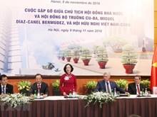 [Foto] Actividades del presidente de Cuba, Miguel Díaz-Canel, en Vietnam