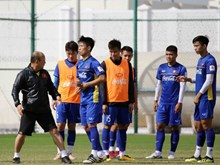 (Foto) Equipo de fútbol de Vietnam listo para Copa Asiática 2019