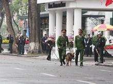 [Fotos] Fortalecen seguridad en área de hotel Metropole, previsto escenario de cena Trump-Kim