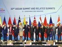 [Fotos] Agenda intensa del Premier vietnamita en Cumbre 33 de ASEAN en Singapur