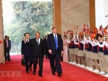 [Fotos] El primer ministro vietnamita, Nguyen Xuan Phuc, se reúne con el presidente norteamericano, Donald Trump