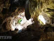 [Fotos] Descubren la gruta Thien Ha, en Ninh Binh