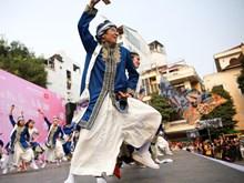 [Fotos] Participaron 700 artistas en la danza japonesa Yosakoi