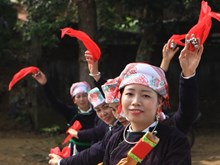 [Fotos] Etnia Tay en Lao Cai preserva canto Then, Patrimonio de la Humanidad