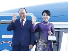 [Fotos] Primer ministro Nguyen Xuan Phuc inicia visita oficial a Rusia