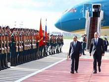 [Fotos] Primer ministro Nguyen Xuan Phuc realiza una visita oficial a Rusia
