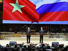 [Fotos] Inauguran Año de Amistad Vietnam-Rusia en Moscú