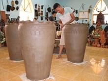 [Fotos] Ninh Thuan: nuevos productos cerámicos de la aldea de oficio tradicional Bau Truc