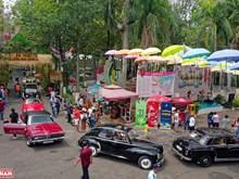 [Fotos] Exposición de coches antiguos en Ciudad Ho Chi Minh