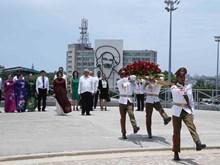 [Fotos] Vicepresidenta vietnamita visita Cuba