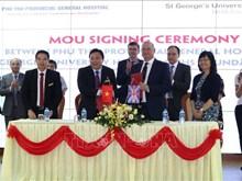 Hospitales de Vietnam y Reino Unido cooperan en tratamiento de accidente cerebrovascular