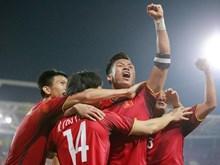 [Fotos] Vietnam repite victoria ante Filipinas para entrar en final de copa regional