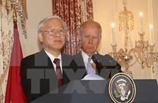 Nguyen Phu Trong asiste a recepción de administración estadounidense