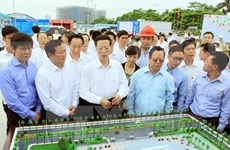 Vicepremier chino visita Palacio de Amistad Vietnam- China