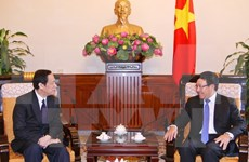 Primera consulta política de vicecancilleres Vietnam – Laos