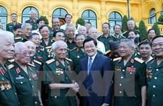 Urgen a veteranos seguir tradición heroica para desarrollo nacional