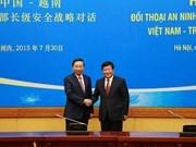 Vietnam y China mantienen primer diálogo de seguridad a nivel de vicem
