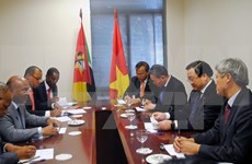 Concluye vicepremier vietnamita visita a Mozambique