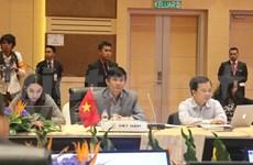 Altos funcionarios de ASEAN elaboran agenda para AMM48