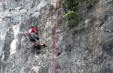 Quang Binh organizará concurso de escalada deportiva Top Rope