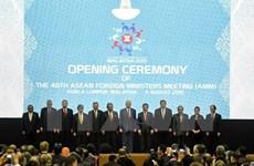 Inauguran 48 Reunión de Cancilleres de ASEAN