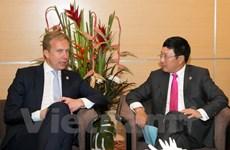 Actividades del vicepremier vietnamita al margen de AMM 48
