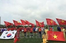 Entrena Vietnam para ronda eliminatoria de fútbol olímpico