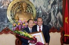 Vietnam y Laos amplían cooperación jurídica