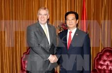 Profundizan Vietnam y Reino Unido asociación estratégica