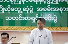 Líder del partido gobernante de Myanmar expulsado del cargo