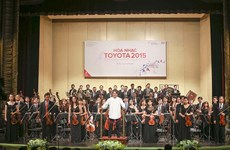 Por primera vez, Concierto Toyota en Thanh Hoa