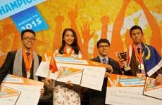 Vietnam gana medalla en Concurso mundial de Microsoft Office