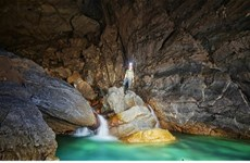 Inician viaje de exploración a cueva de Hada