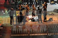 Al menos 10 personas implicadas en atentado de Bangkok