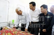 Dirigente parlamentario visita víctimas de accidente de mina de carbón
