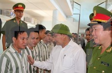 Revisan lista de condenados beneficiados de amnistía