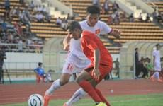 Vietnam logra primera victoria en torneo regional de fútbol sub19