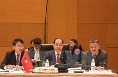 Activa participación de Vietnam en conferencias de ASEAN