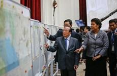Dispuesto Reino Unido prestar mapas a Cambodia