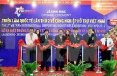Inauguran exposición sobre industria auxiliar vietnamita